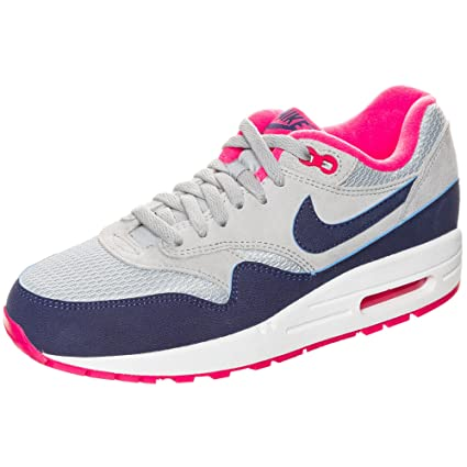 huge discount 6eec1 b8a1b Nike Air Max 1 Essential Women Schuhe light magnet grey-deep royal blue -hyper