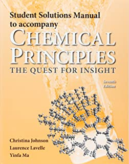 Chemical principles the quest for insight peter atkins loretta student solutions manual for chemical principles fandeluxe Images