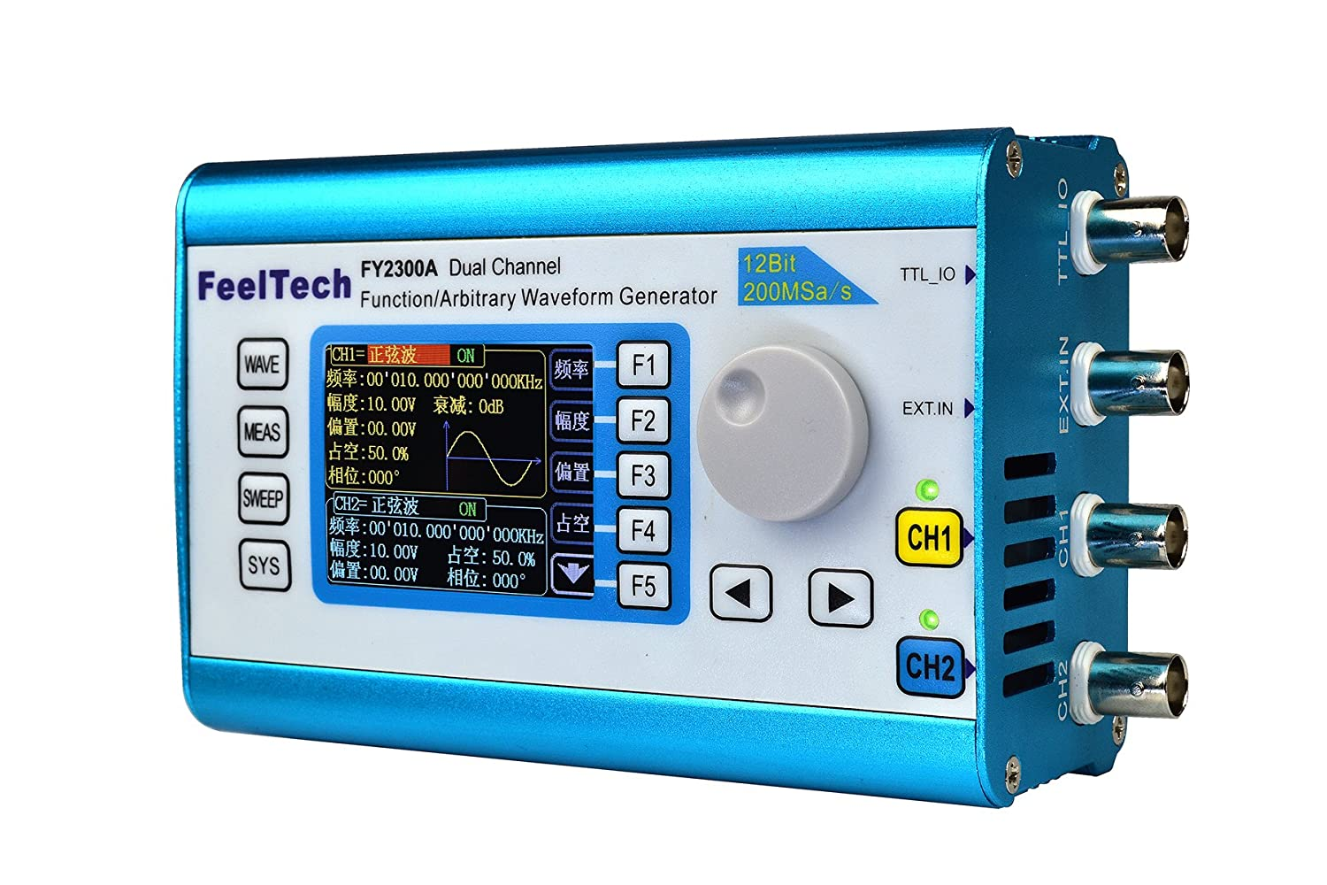 Kuman 20mhz High Precision Dds Arbitrary Waveform Generator With 24 Pulse Control Frequency By Digital Ic Tft Dual Channel 200msa S100mhz Meter Signal Fy2300
