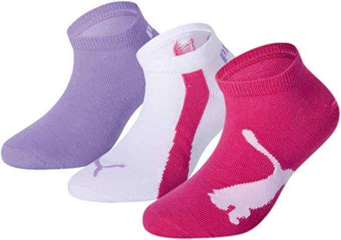 PUMA Puma Unisex - Kinder Sneaker Socken 3 Paar Sportsocken ...
