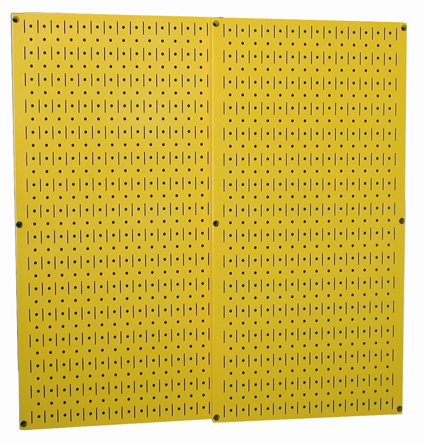 Wall Control 30-P-3232Y Yellow Metal Pegboard Pack