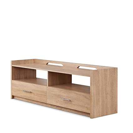 new style 4afe4 f411d Amazon.com: Acme Furniture 91280 Kilko TV Stand Natural ...