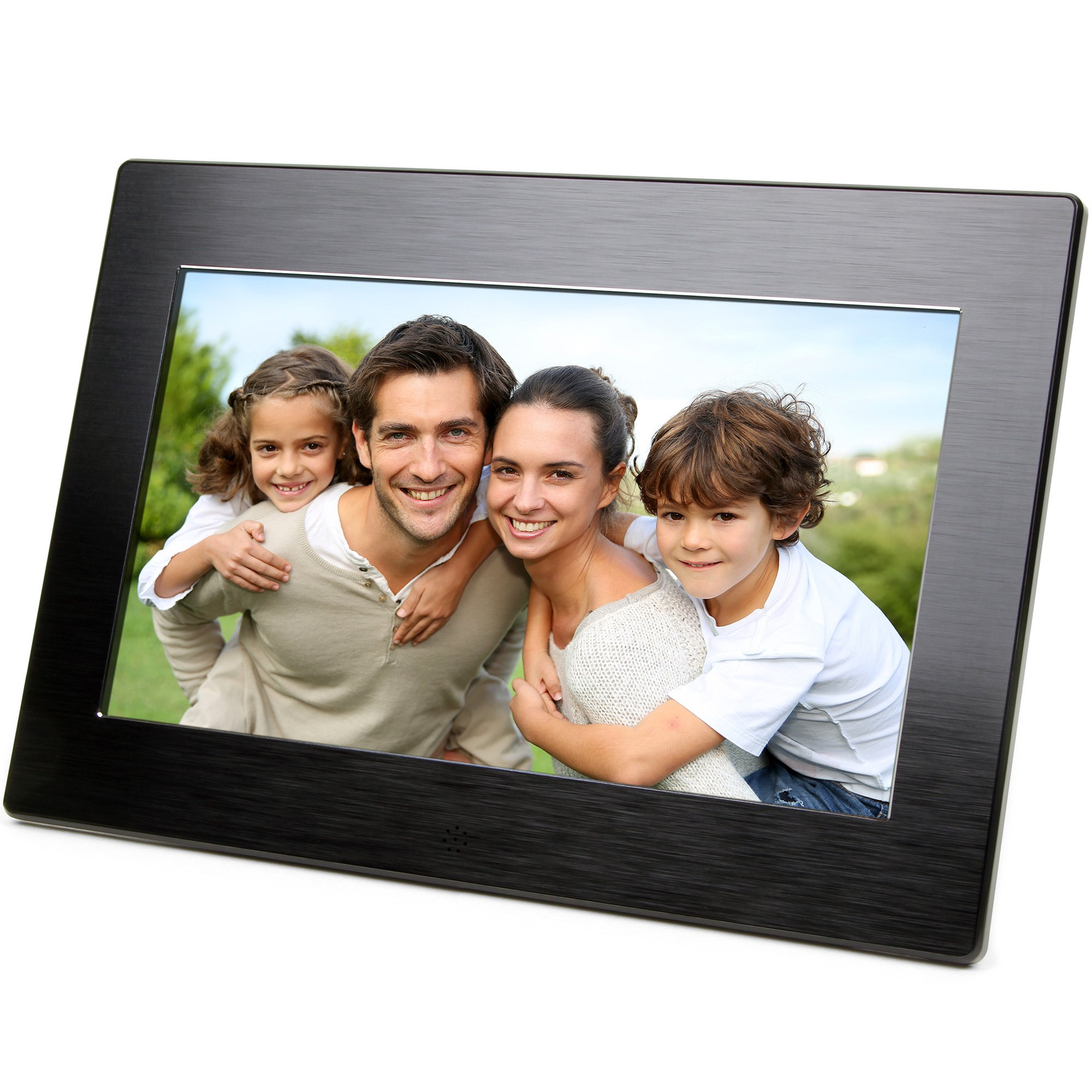 Micca 10-Inch Digital Photo Frame With High Resolution Widescreen LCD and Auto On/Off Timer (M1010z)