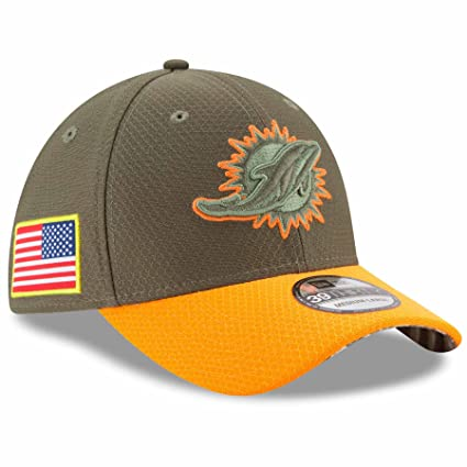 d1965a687e2fff Amazon.com : Miami Dolphins New Era NFL 39THIRTY 2017 Sideline