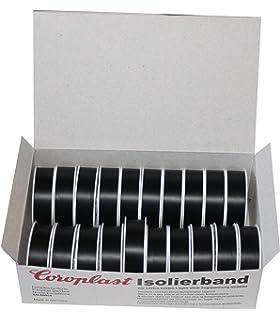 Isolierband Schwarz 15mm 10 Meter lang 0.15 Coroplast Isolierband