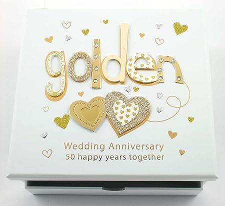 Talking Pictures 50th Golden Wedding Anniversary Photo Album
