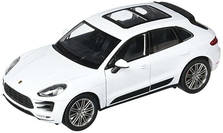 Welly 2017 Porsche Macan Turbo Diecast Car, White