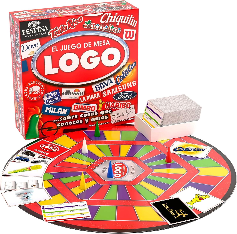 Juegos Bizak Logo Game (BIZAK 63261150): Amazon.es: Juguetes y juegos
