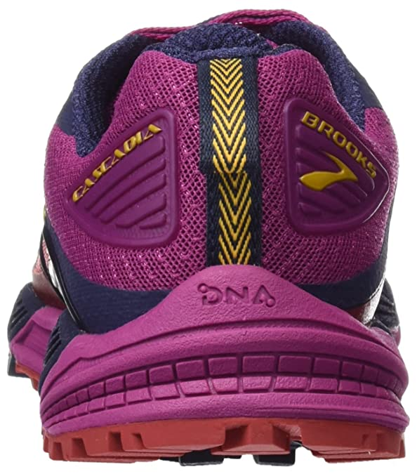 Amazon.com | Brooks Womens Cascadia 12 (9, Poppy Red/Peacoat/Baton Rouge) | Road Running