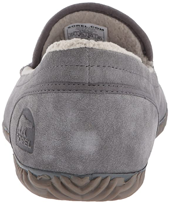 Amazon.com | Sorel Mens Sorel Dude Moc Slipper, Quarry, Dark Grey, 10.5 D US | Slippers