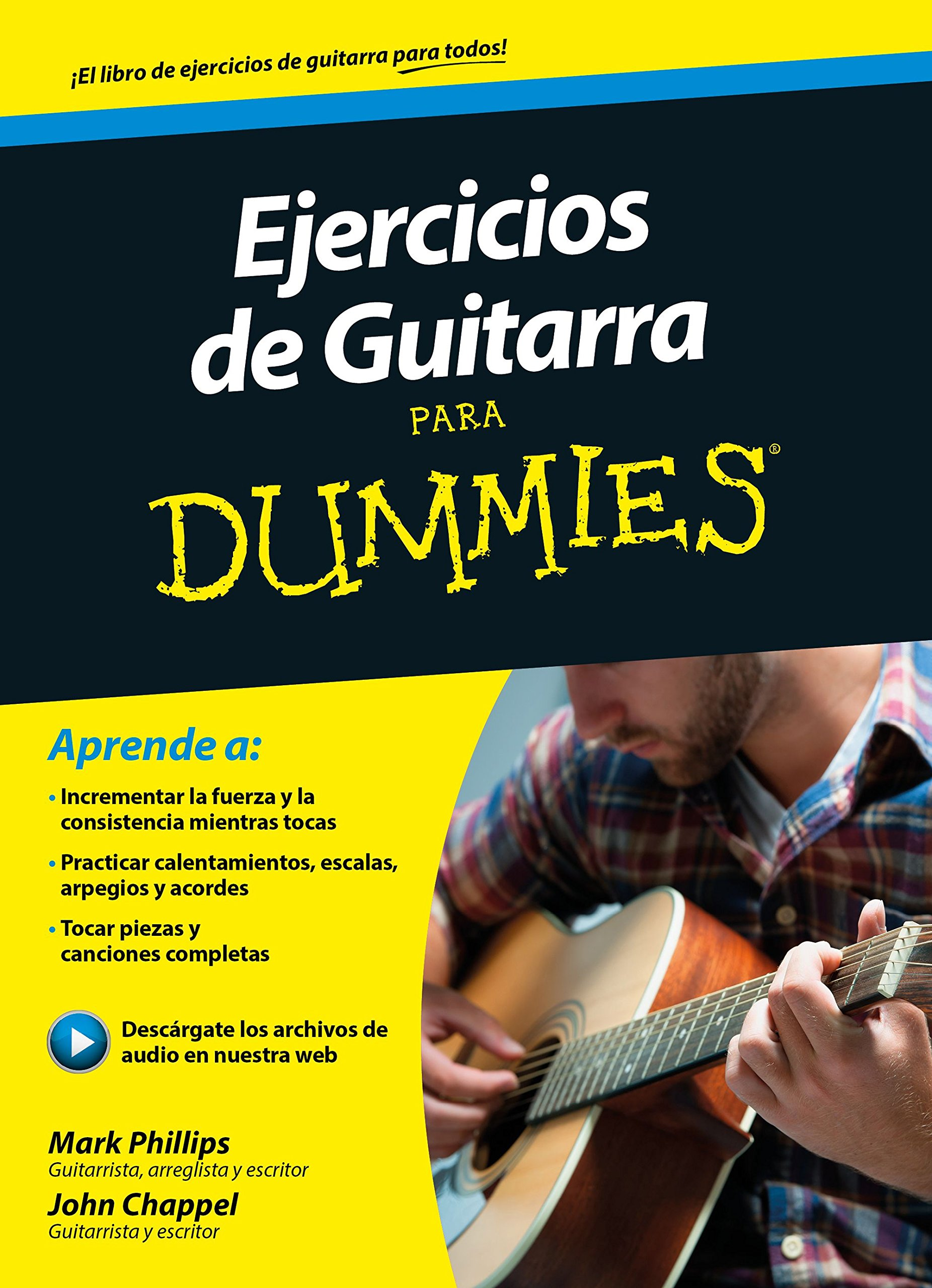 Ejercicios de guitarra para Dummies: Amazon.es: Phillips, Mark ...