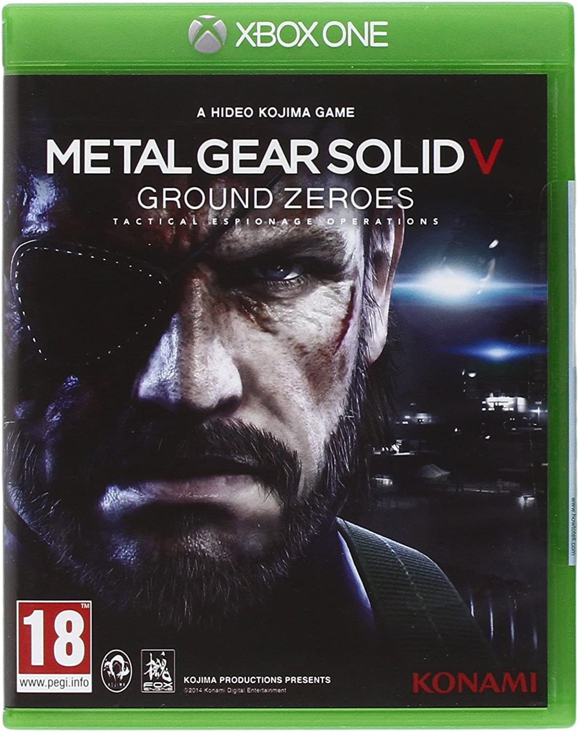 Metal Gear Solid V: Ground Zeroes [Importación Italiana]: Amazon ...