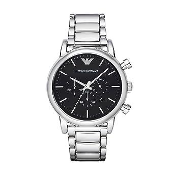 Armani damenuhren silber  Emporio Armani Herren-Uhren AR1894: Amazon.de: Uhren