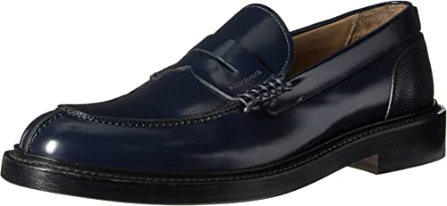 Boys Black Dress Shoes Tie up Loafers by George SIZE 7,8,9