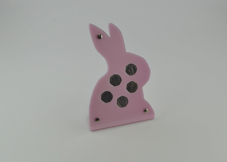 Gift Box Peter Rabbit Beatrix Potter Perspex Coin Display