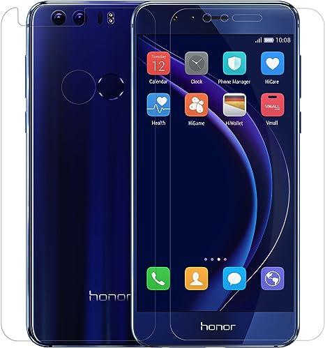 Huawei Honor 8 Protector de pantalla, Nillkin H+ Pro Cristal Templado [Dureza 9H] Ultrafino 0.2mm [Bordes Redondeados 2.5D] Vidrio Premium Honor 8.: Amazon.es: Electrónica