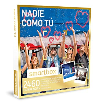 SMARTBOX - Caja Regalo - NADIE COMO TÚ - 2460 inolvidables experiencias:escapadas, spas, cenas chic, actividades de aventura...: Amazon.es: Deportes y aire ...