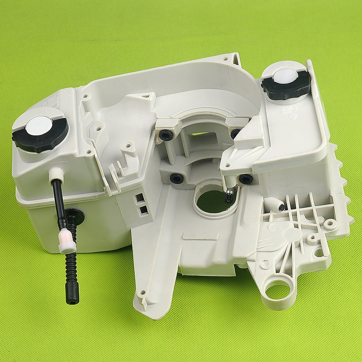 Hipa 1123 020 3003 Fuel Tank Crankcase Engine Housing Stihl Chainsaw Parts Diagram Oil Pump Free Image For With Cap Fit 021 023 025 Ms210 Ms230 Ms250 Garden Outdoor