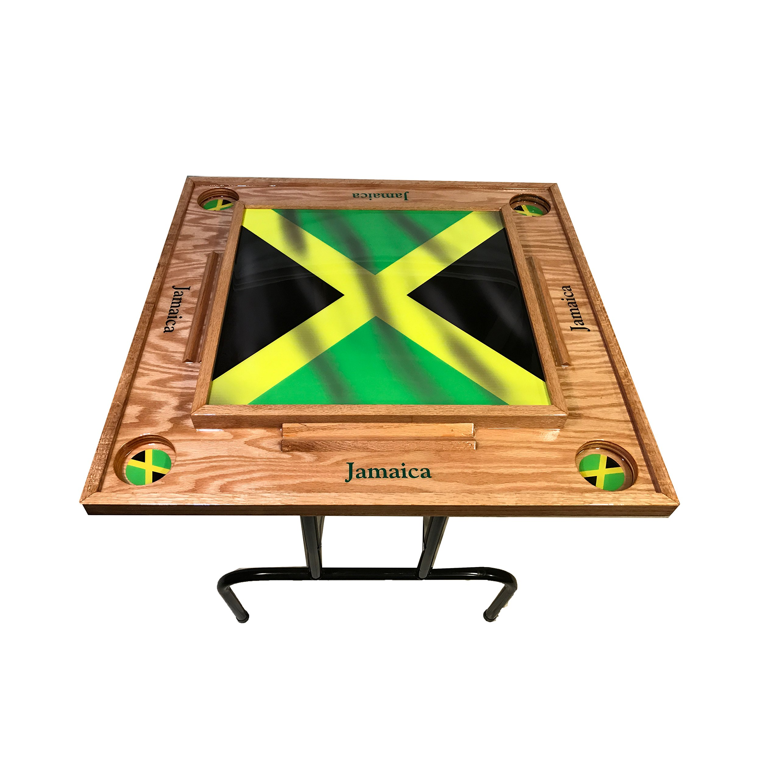 Jamaica W Flag Domino Table by latinos r us