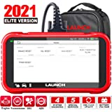 LAUNCH OBD2 Scanner -CRP129E Scan Tool for Eng ABS SRS TCM Code Reader, Oil/EPB/TPMS/SAS/Throttle Body Reset Car Diagnostic T