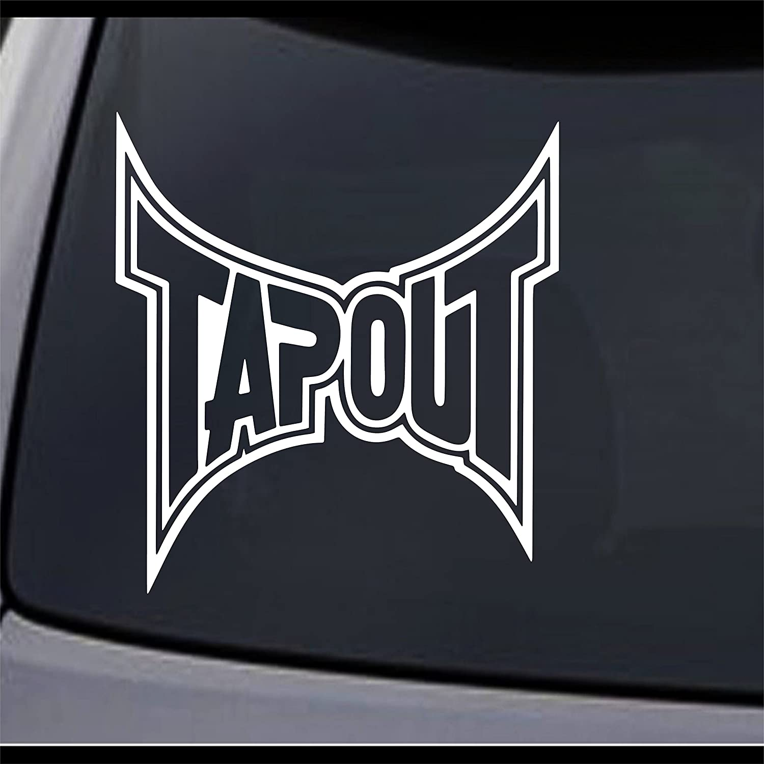 Tapout 4 to 24 One Color Vinyl Decal Sticker