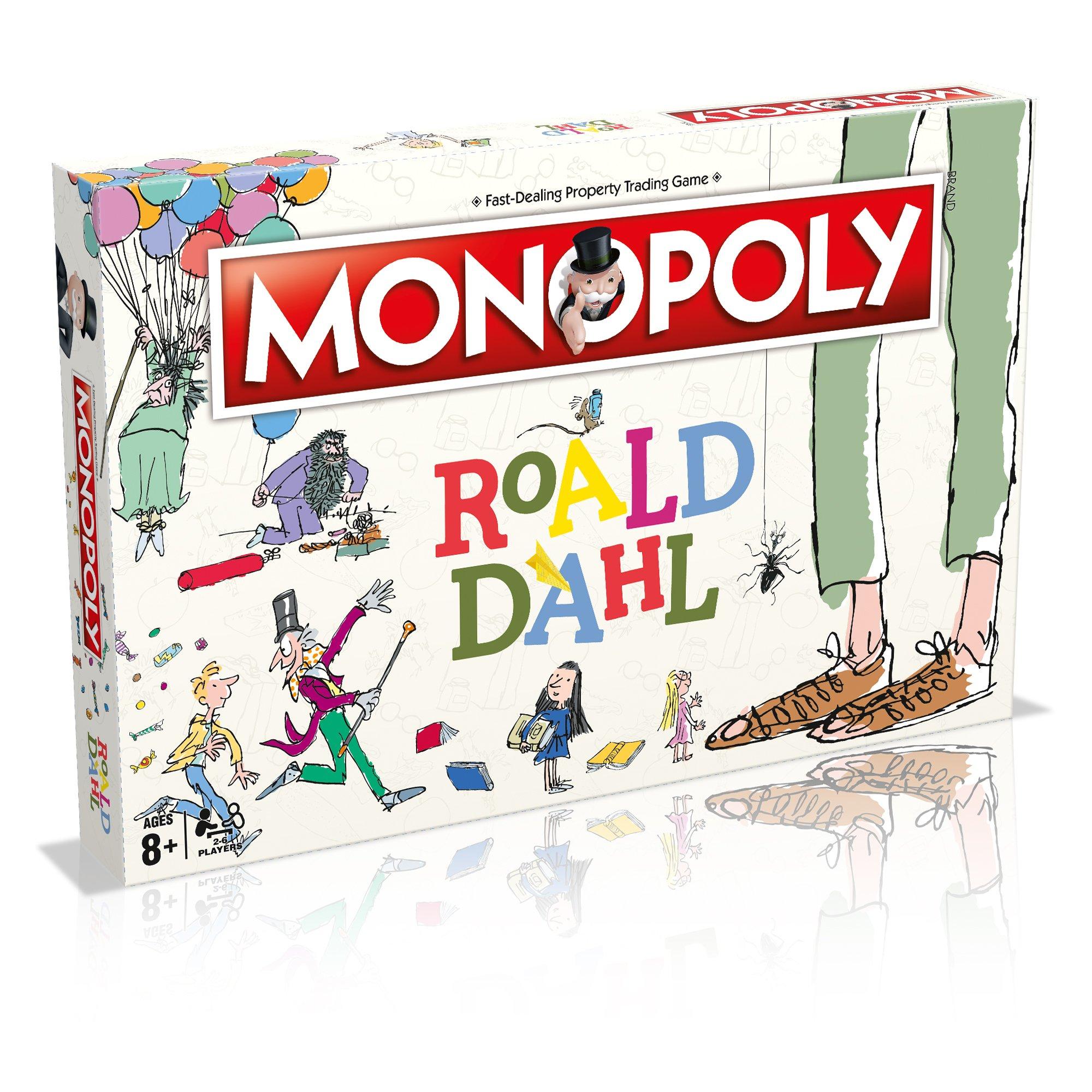 Roald Dahl Monopoly Board Game: Amazon.es: Libros en idiomas extranjeros