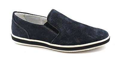 Chaussures amp;co Jeans On Blue En Slip Igi 1108833 Hommes IFHwqFxd