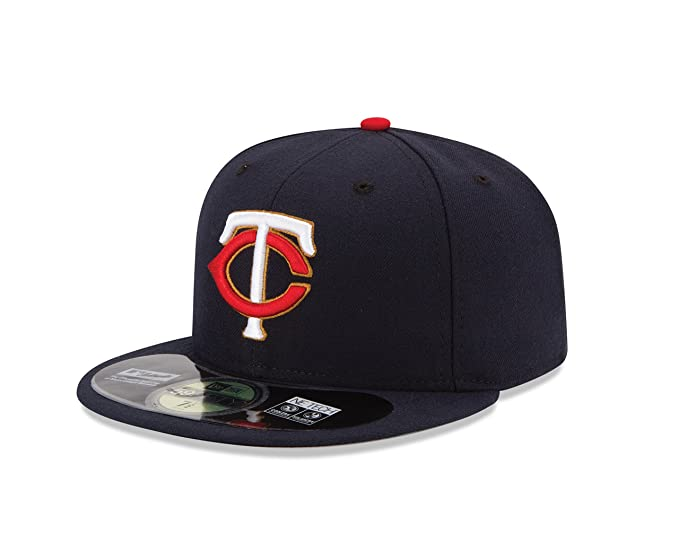 new product 1bdd2 10e96 MLB Minnesota Twins Men s Authentic Collection On Field 59FIFTY Fitted Cap,  7 1 8