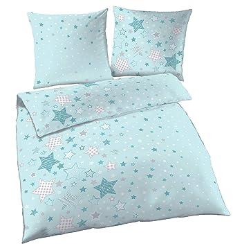 Sterne Fein Biber Mädchen Bettwäsche Stars Sterne Sternchen In