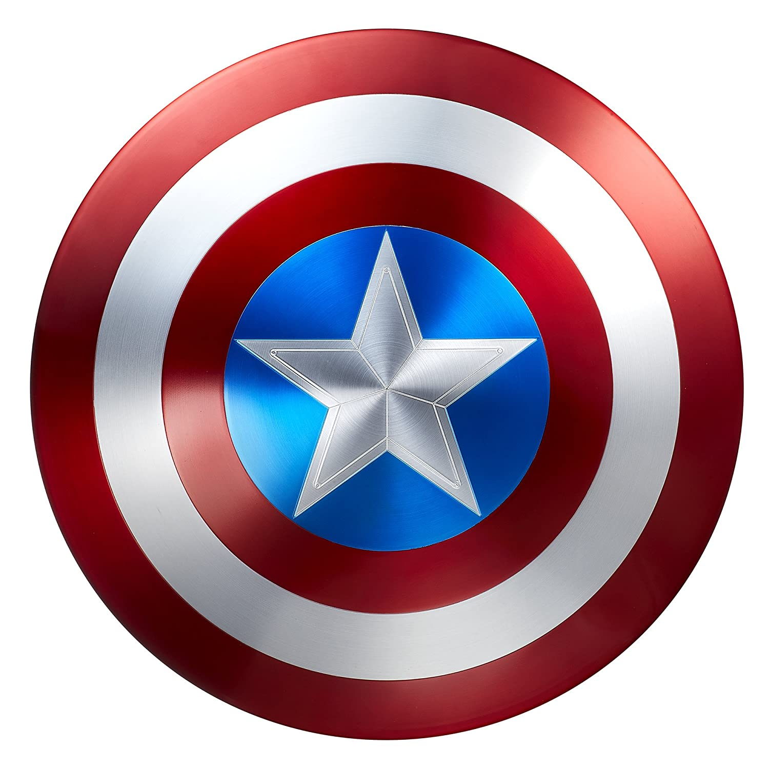 Marvel Legends Captain America 75th Anniversary Metal Shield - DeluxeAdultCostumes.com