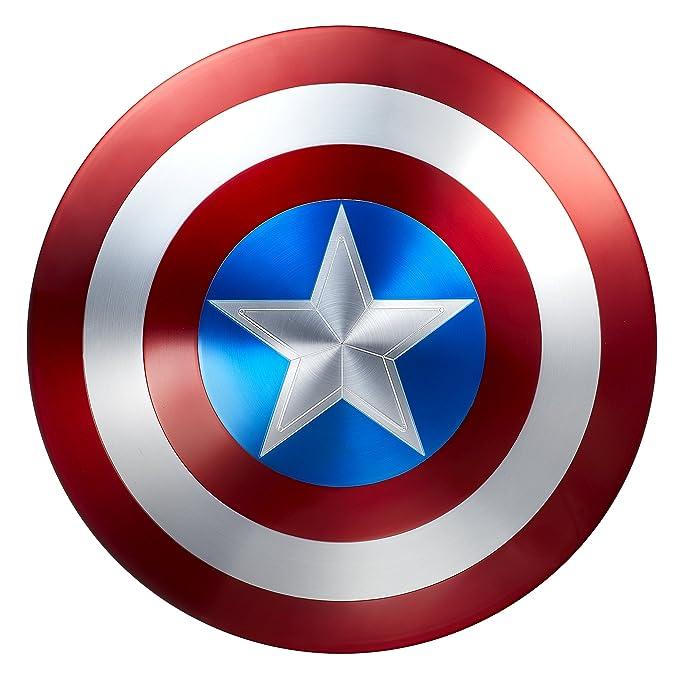 Amazon.com: Marvel, Escudo de metal por el 75 aniversario ...