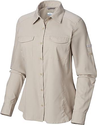 Columbia Silver RidgeTM Lite Camisa de Manga Larga: Amazon.es: Ropa y accesorios