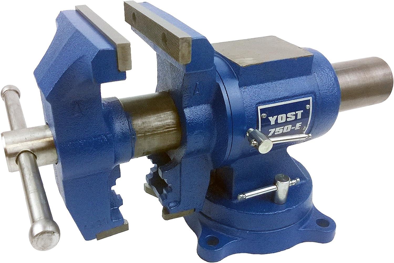 Best Bench Vises: Yost 750E for quick & convenient use