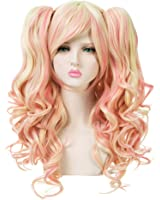 EDENKISS Women lolita Clip on Two Ponytails Long Hair Replacement Full Head Wigs