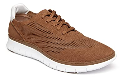 3f5b0a0ccde737 Amazon.com | Vionic Men's Fresh Tucker Lace-up Casual Sneaker with  Concealed Orthotic Support | Fashion Sneakers