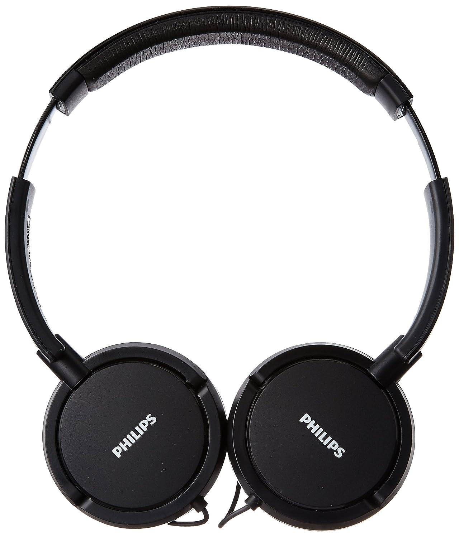 Amazon.com: Philips SHL5000/00 On Ear Headphone with Deep Bass (Black): Home Audio & Theater
