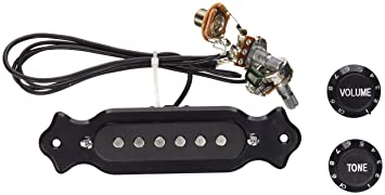 Amazon.com: Pre-Wired 6-String Single Coil Pickup Harness with ...