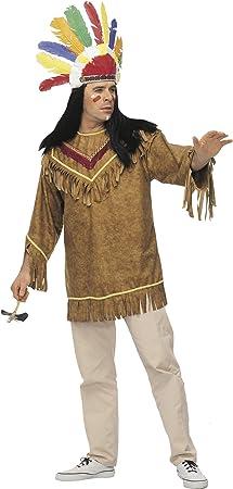 Cesar A136-002 - Disfraz de indio para hombre (adulto) (talla 54 ...