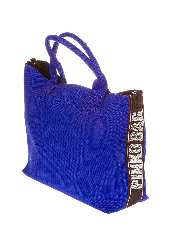 Taglia Shopping Alaccia Bag 1h20dry4c9g01bluea8e Grande Uni Pinko EqHwpXq