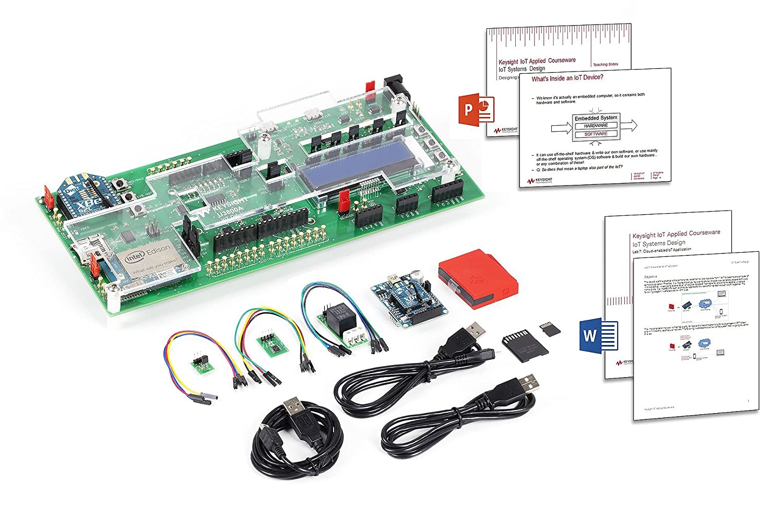 KEYSIGHT U3804A Applied courseware, IoT Systems Design Training kit