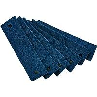 Leander Poignets en feutre Bleu