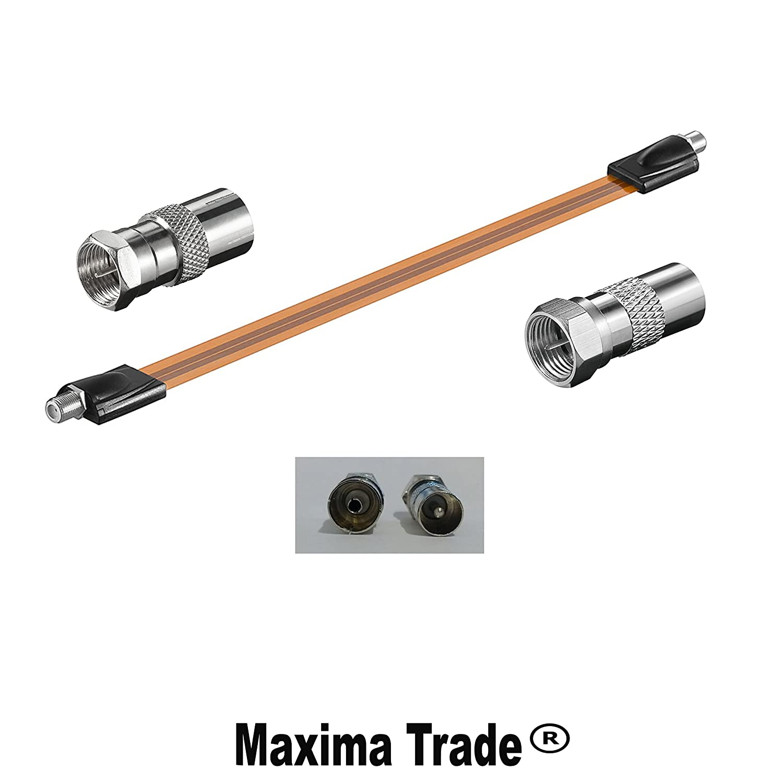 Maxima Trade Juego pasaventanas muy plano + 1 x Coaxial ...