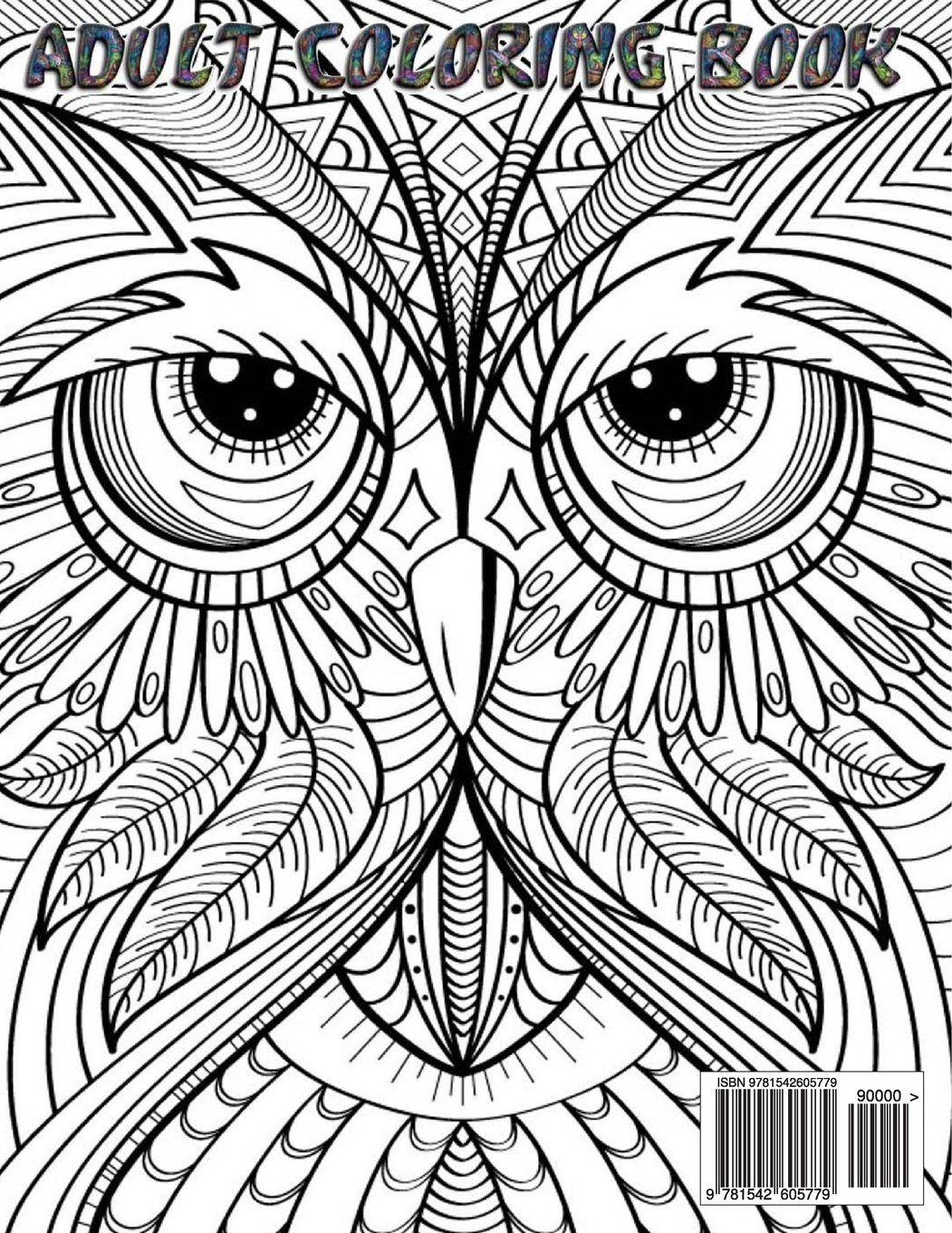 Amazon.com: Owls Adult Coloring Book: 30 Creative Owl Designs For ...