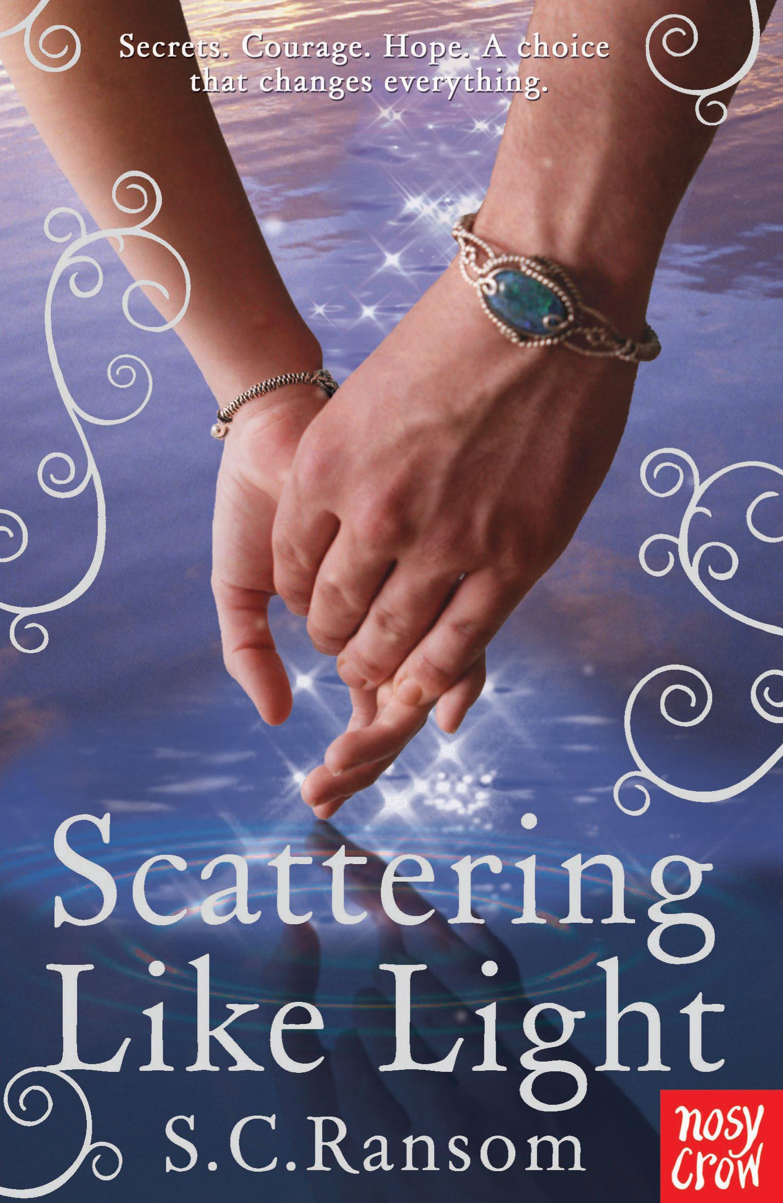 Read Online Scattering Like Light (Small Blue Thing Trilogy) pdf epub
