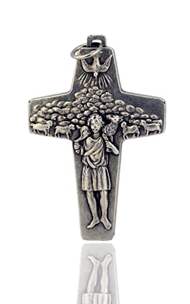 Brand new Amazon.com: Large Pope Francis Good Shepherd Papal Cross (3 Inch  FF16