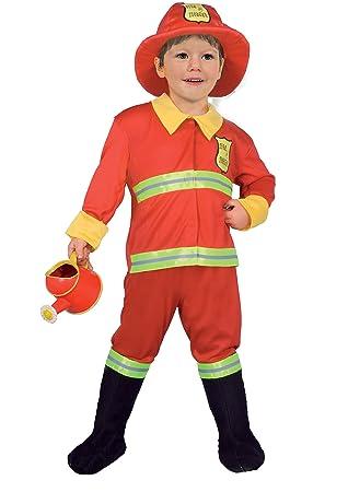 Ciao 14788 - Baby bombero disfraz niño 3-4 anni rojo: Amazon.es ...