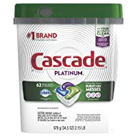 Deal for 3-Pack Cascade Platinum ActionPacs Dishwasher Detergent 62-Ct for 35.91