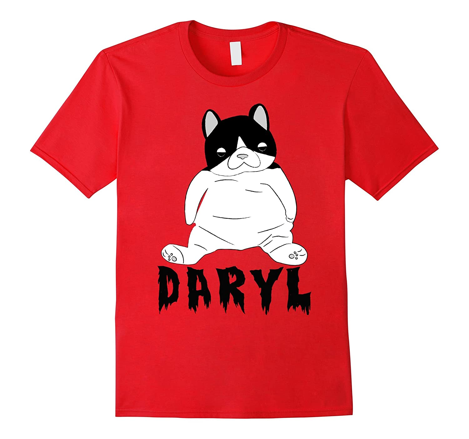 Womens Daryl Plush Cat Shirt-Teechatpro
