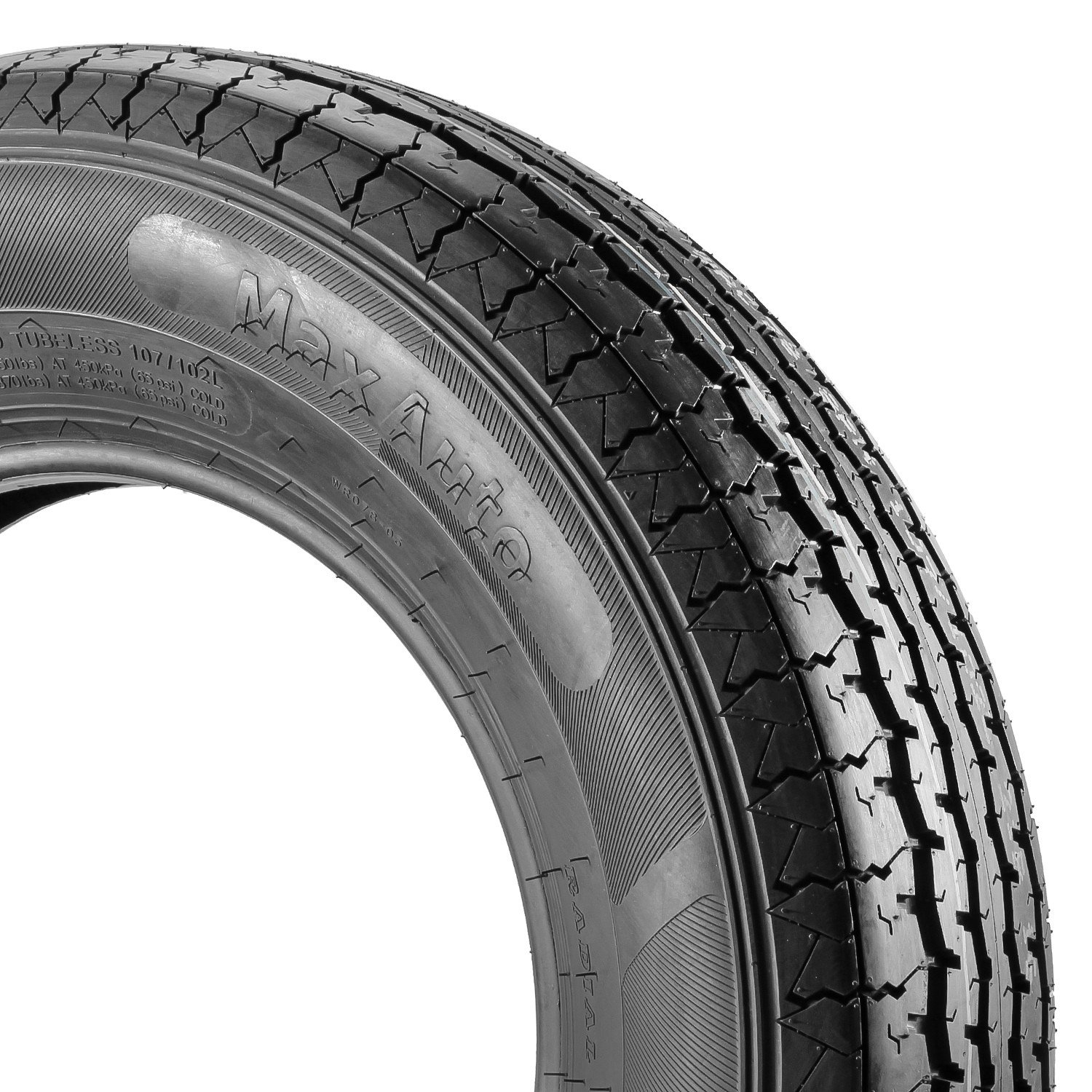 MaxAuto Radial Trailer Tires - ST205/75R15 ST205/75R-15 2057515 8Ply(Pack of 4) by MaxAuto (Image #4)
