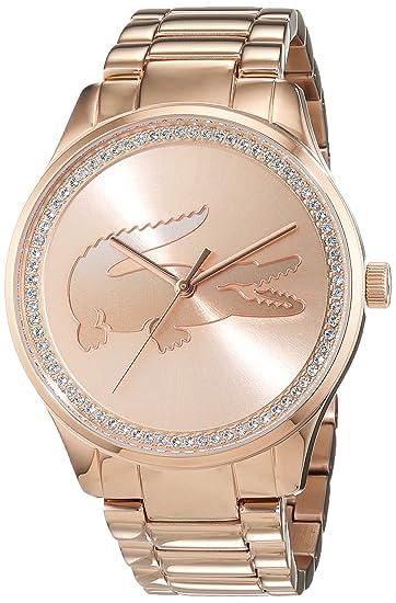 Lacoste 2000973 Victoria - Reloj analógico de pulsera para mujer: Amazon.es: Relojes